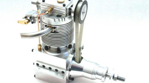 Two stroke petrol Engine | Becurious.co.in