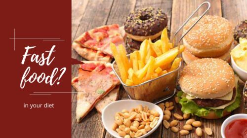 Fast food or junk food in your diet