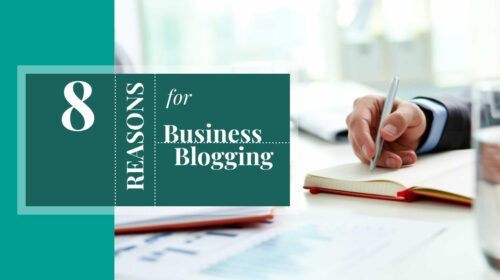 8 reasons for business blogging