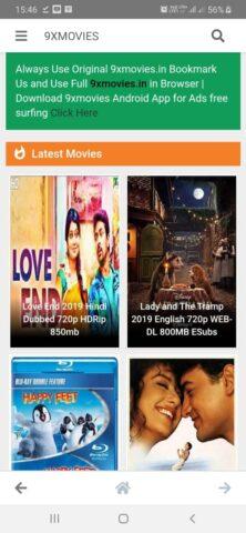 9xmovies Latest Movies Leaked on 9xmovie 9xmovies.in platform
