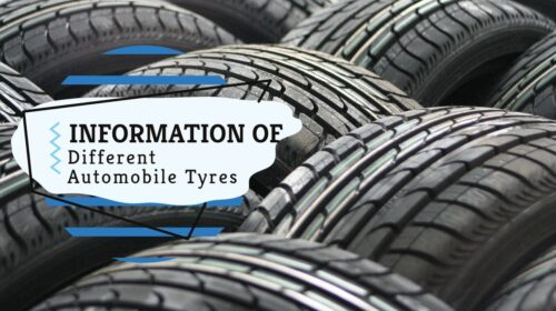 Different Type of tyres and uses