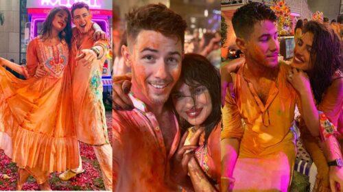 Nick Jonas & Priyanka Chopra Celebrates Their First Holi In India At Isha Ambani's Star-Studded Bash