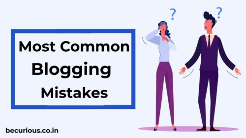Most Common Beginners Blog Mistakes