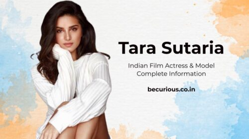 Tara Sutaria Biography